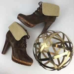 Michael Kors Sherpa Boots